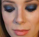 Tutorial azul com brilho