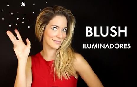 blushes e iluminadores